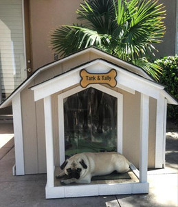 Large Presidential Dog House Without A/C