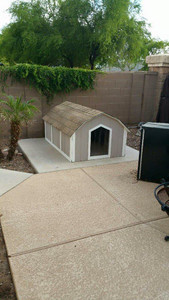 3X-Large Basic Dog House With A/C