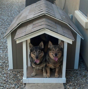 Medium Presidential Dog House With A/C