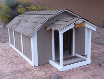 3XLarge Presidential Dog House Without A/C