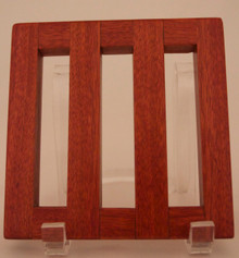 Exotic Woods Trivet Bloodwood