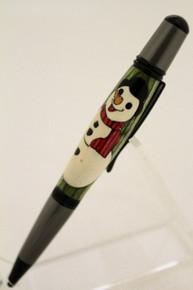 Wall Street  Ballpoint Pen Snowman