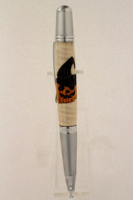 Wall Street  Ballpoint Pen Pumpkin Witch