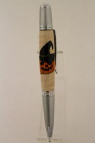 Wall Street  Ballpoint Pen Pumpkin Witch tc