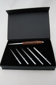 Interchangeable  Crochet Hook Set Zebrawood 1