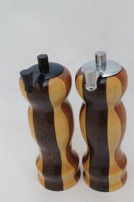 "6"" Salt & Peppermills Segmented # 1011 & 1012"