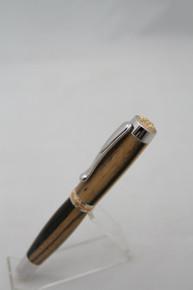 Fountain Pen Statesman Black & White Ebony