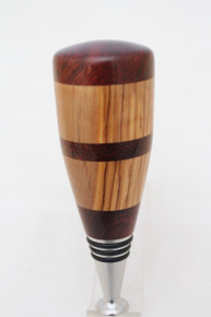Bottle Stopper Camelthorn & Olivewood