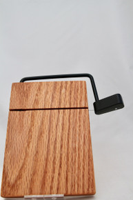Cheese Slicer Board Oak # 1171