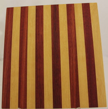 # 315 Pau Amarello & Yucatan Rosewood Exotic Wood Cutting Board