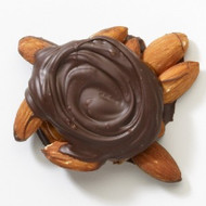 Chocolate Caramel Almond Turtles