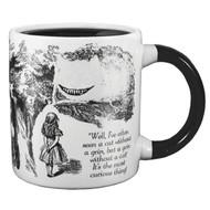 Disappearing Cheshire Cat Mug