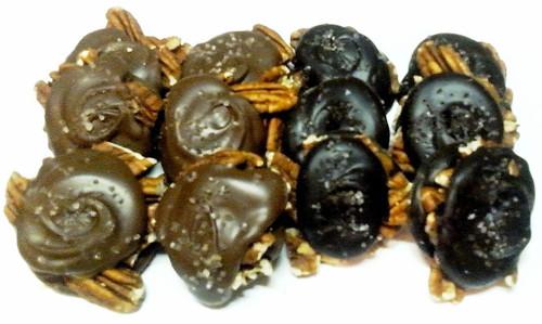 Sea Salt Caramel Pecan Turtles