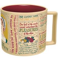 Jane Austen Literary Mug