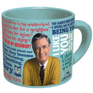 Mister Rogers Changing Sweater Mug