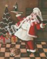 Christmas Wine Santa