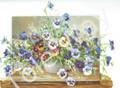 Pansies in a vase (8x10)