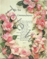 The Ten Commandments with Roses (8x10)