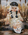 Cherokee Child (Girl-16x20)