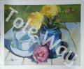 Blue Vase Kit (16x20)(1 mounted + 5 prints)