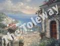 Elegant Seacoast (11x14 with 7.5x10 image)