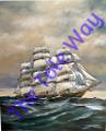 Sailing Ship (8x10)