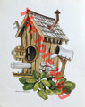 Outhouse Birdhouse (8x10)