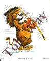 Hockey Lion (5x7)