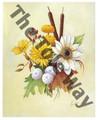 Autumn Flowers III (8x10)
