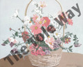 Daisy Flower Basket (8x10)