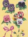 Pansies by Reina (Card sheet 6x9)