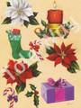 Christmas Decoupage by Reina (6x9)