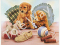 Playful Puppies (8x10)