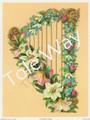 Victorian Harp (6.5x8.5)