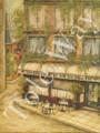 Cafe Du Theatre (16x20)