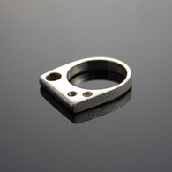 """Gestalt"" Cast Silver Ring"