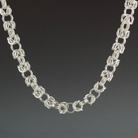 """Byzantine"" Chain Mail Necklace"