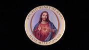 "Sacred Heart of Jesus   3 1/2"" Magnet"