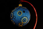 "Going in Circles - Blue 10 Cm Bulb (Approx. 4"")"
