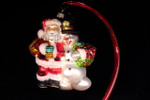 Santa with Frosty