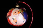 "Jolly Santa 12 Cm Bulb (Approx. 4 3/4"")"