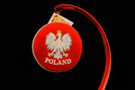Polish Eagle Disc Ornament
