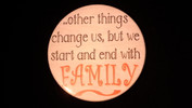 "Other things change us..| 3 1/2"" Magnet"