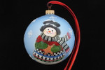 "Holiday Snowman 12 Cm Bulb (Approx. 4 3/4"")"