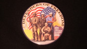 "Defenders of Freedom | 3 1/2"" Magnet"