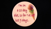 "10 day diet | 3 1/2"" magnet"