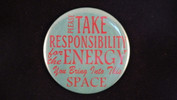 "Please take responsibility.. | 3 1/2"" Magnet"