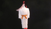 Martial Arts Dobok - Orange Belt