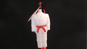 Martial Arts Dobok - Red Belt