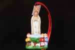 Curtis Posuniak Presents... Our Lady of FATIMA  100th ANNIVERSARY Custom Glass Ornament (NEW)